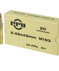 PPU M193 5.56NATO 55GR SALES ONLINE
